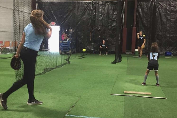 Softball Pitching and Hitting Lessons