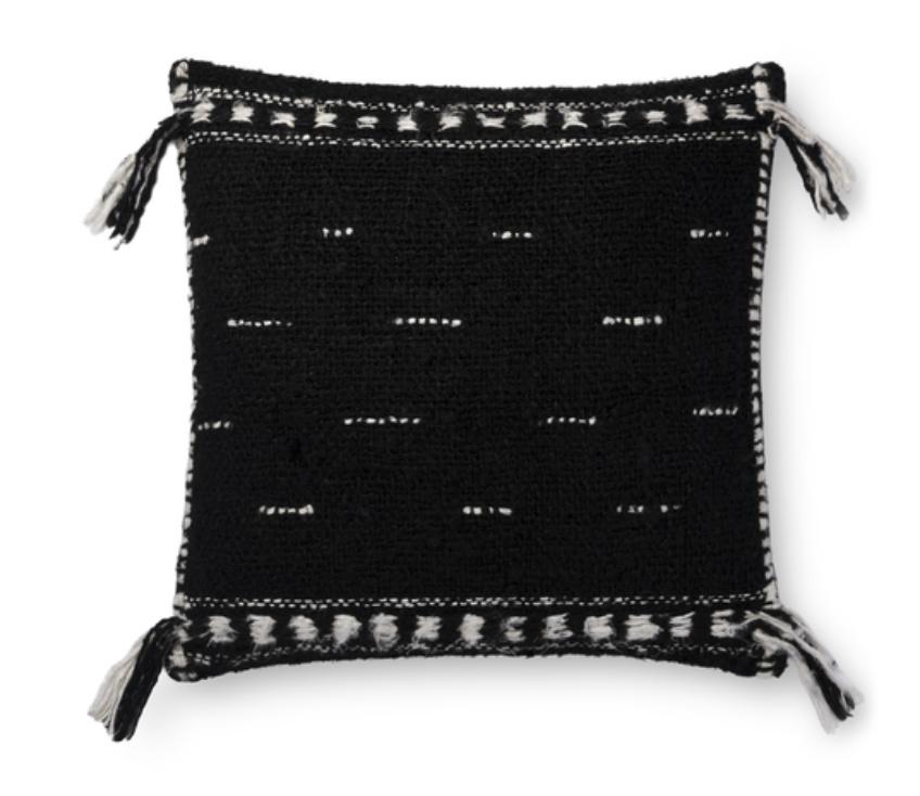 Black Shayne Pillow