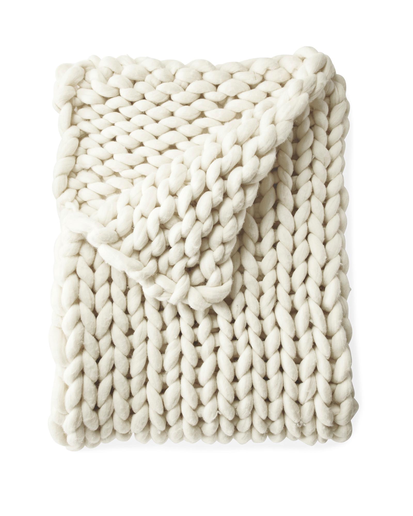 Henley Wool Throw