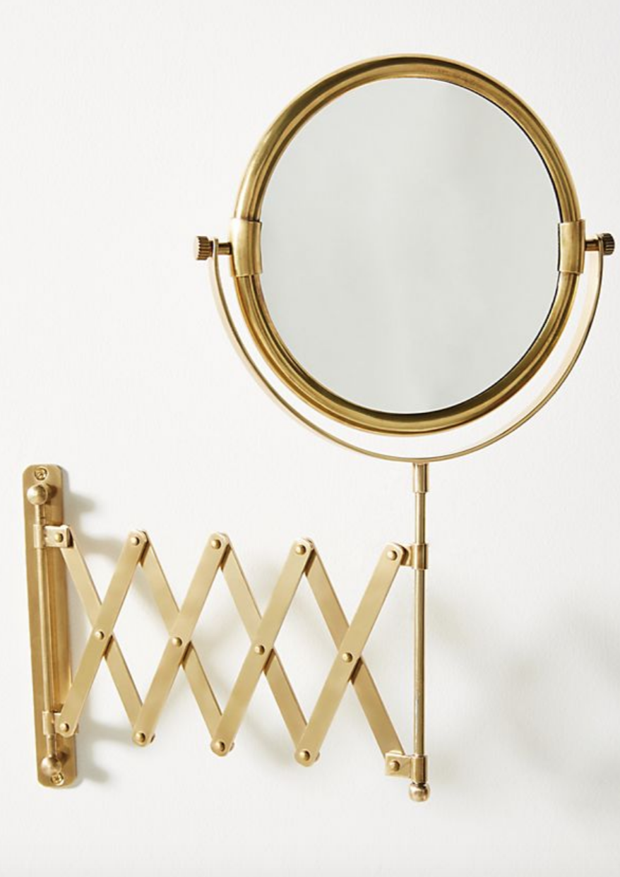 Wall Mounted Accent Mirror