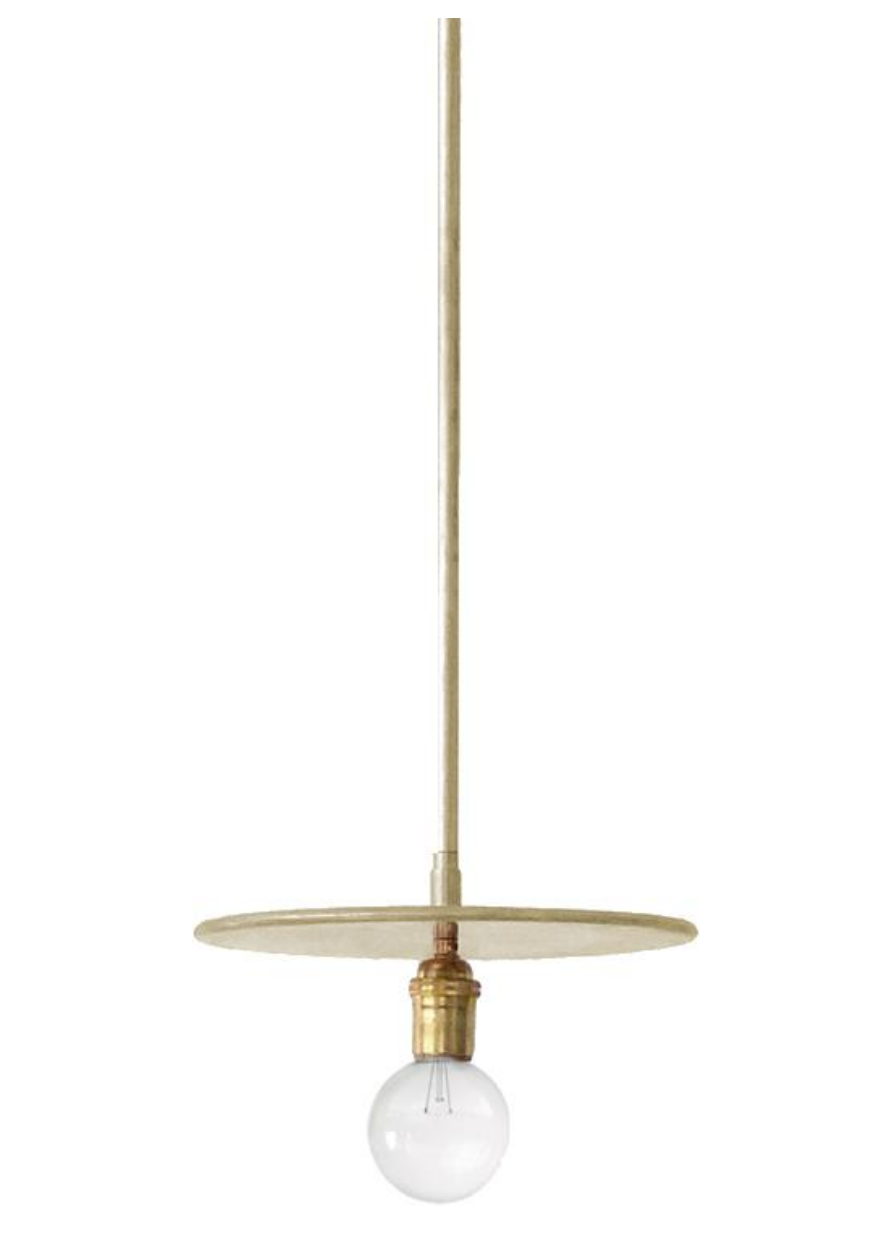 Workstead Brass Pendant