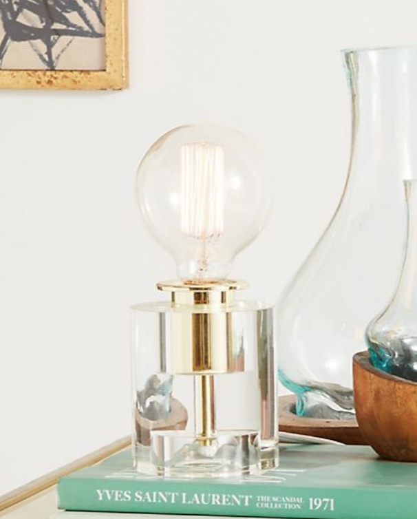 Bettany Lucite Accent Lamp