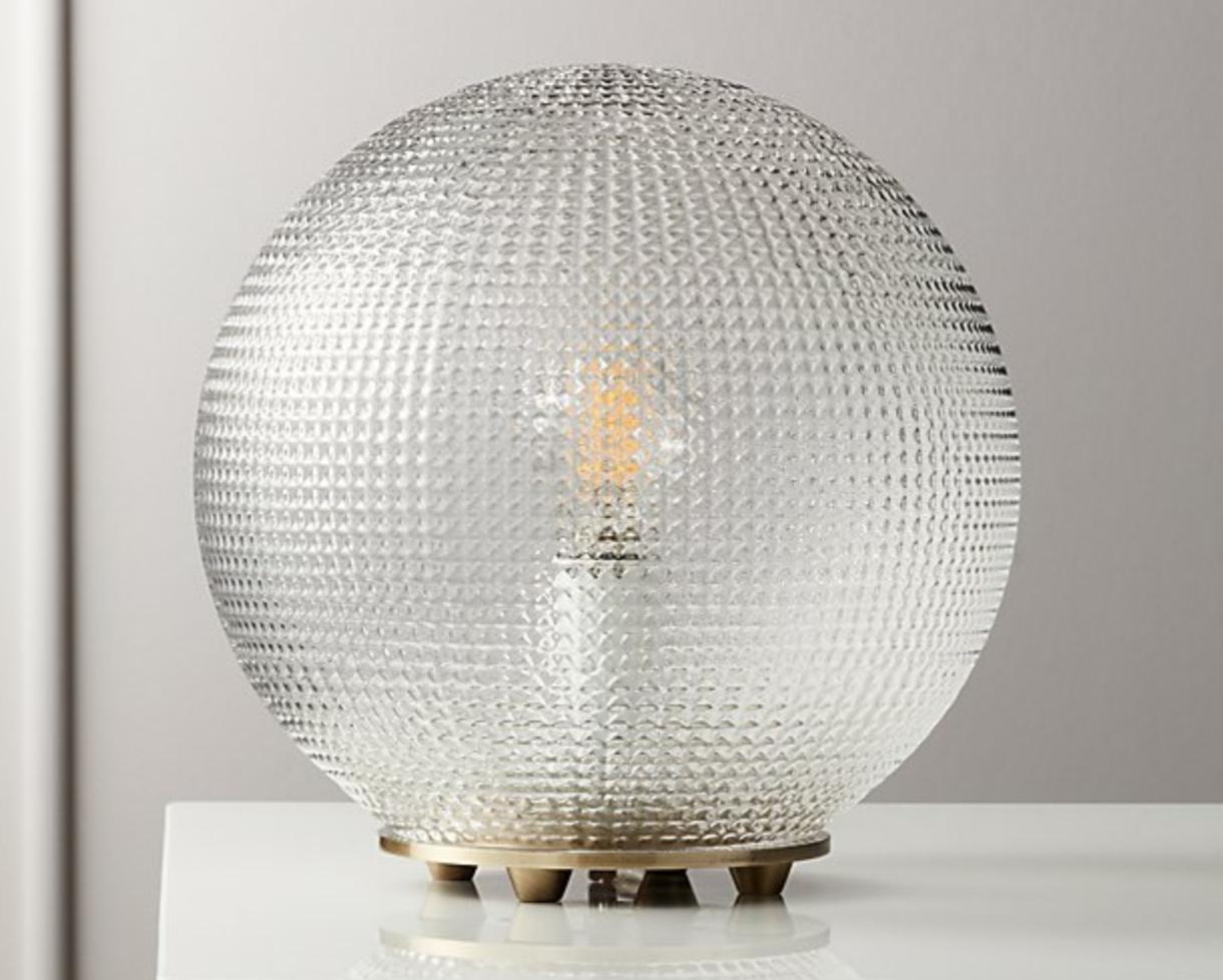 Halo Globe Table Lamp