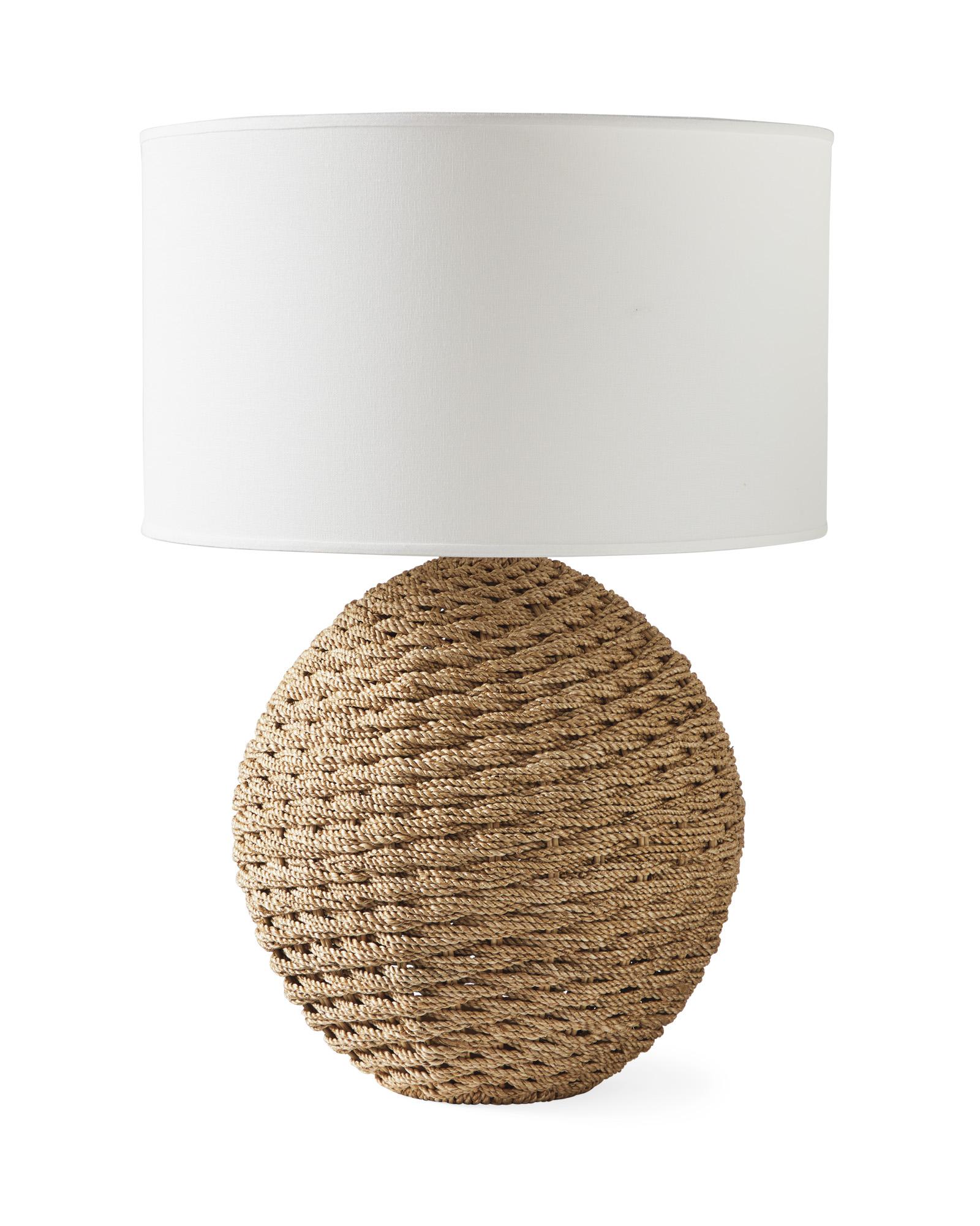 Abbott Round Table Lamp