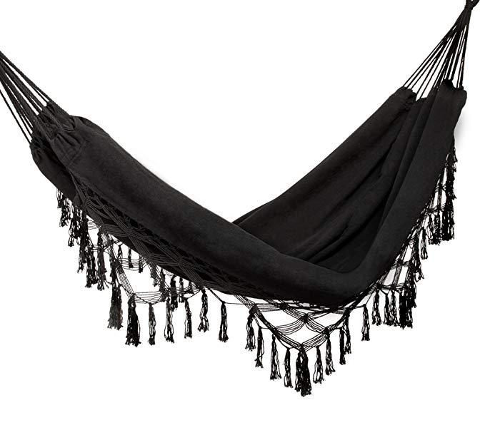 Black Woven Hammock