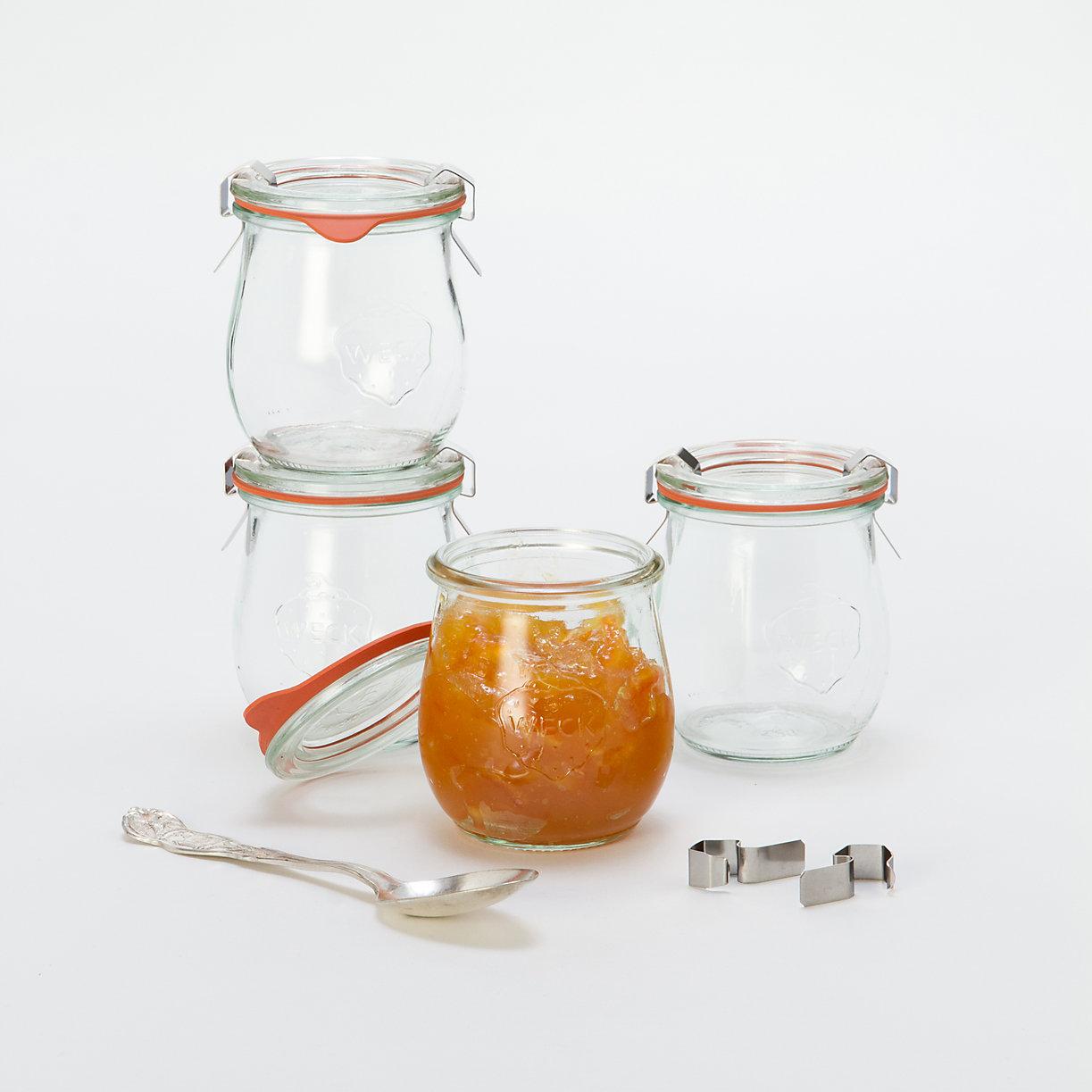 7.4 oz Weck Jar Set
