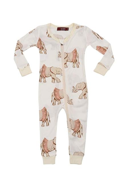 Bamboo Zip Pajamas