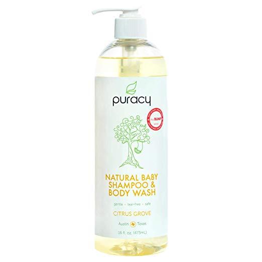 Natural Citrus Grove Baby Shampoo & Baby Wash