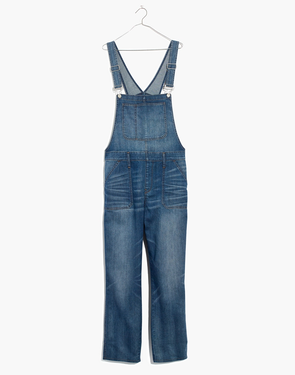 Skinny Overalls in Jansing Wash