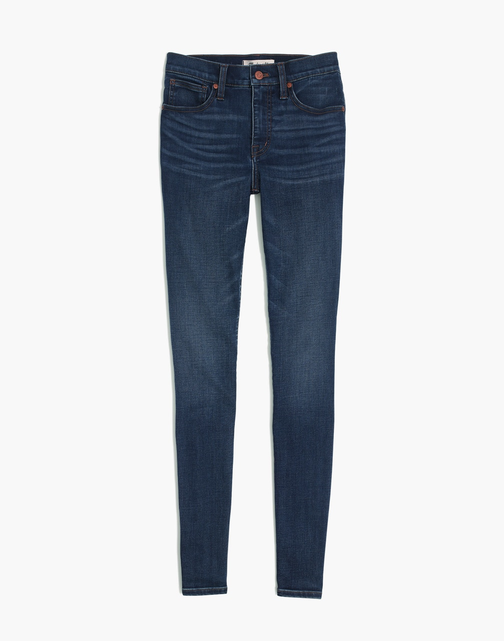 "10"" High-Rise Danny Wash: Tencel Edition Skinny Jeans"