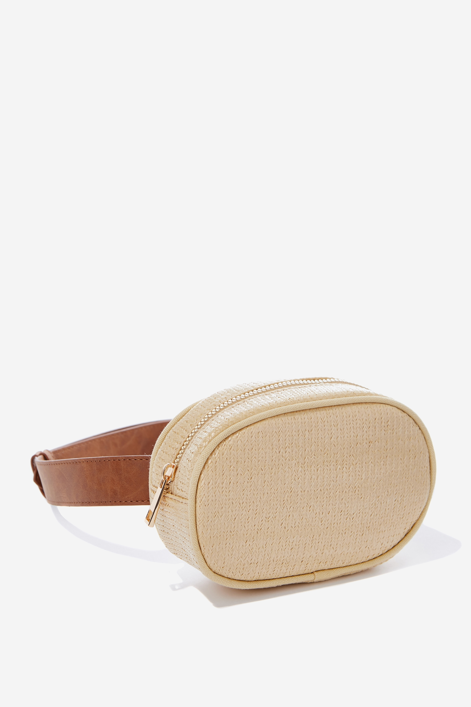 Natural Weave Belt Bag