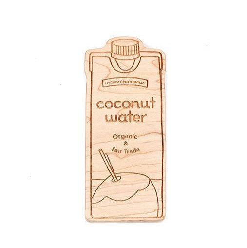 Wood Coconut Water Teether