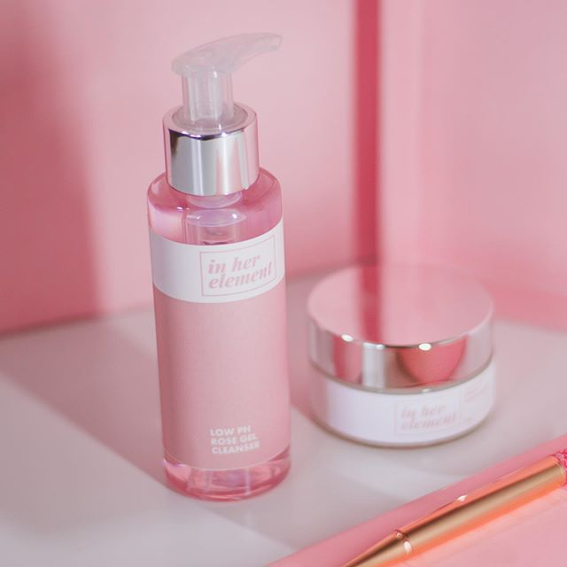 "BeautyMNL customer Valerie shares her love for our Low pH Rose Gel Cleanser: ""Most cleansers I use tend to make my skin feel dry and tight. But this Low pH Rose Gel Cleanser is different. My skin feels soft and smooth afterward. I love that the ingredient list of this cleanser does not contain any harmful chemicals and its Paraben-free. It is on the pricey side though, but I can see that this will last me a long time coz' I only need one pump and it lathers my whole face and neck. If you are in your 30s, then you know that moisture is very important for your skin. I definitely recommend this because it's a good initial step for your skincare routine."" Thank you Valerie! ✨  Our products are available at @beautymnl and www.inherelement.ph."