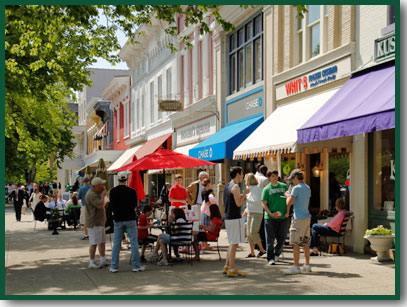 Downtown Granville on a Sunday Afternoon (Photo by Gone-Walkabout@flickr.com)