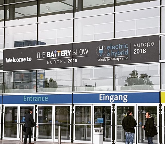 GigaVaasa visited the Battery Show in Hanover. Super interesting and worthwhile visit. 🇩🇪