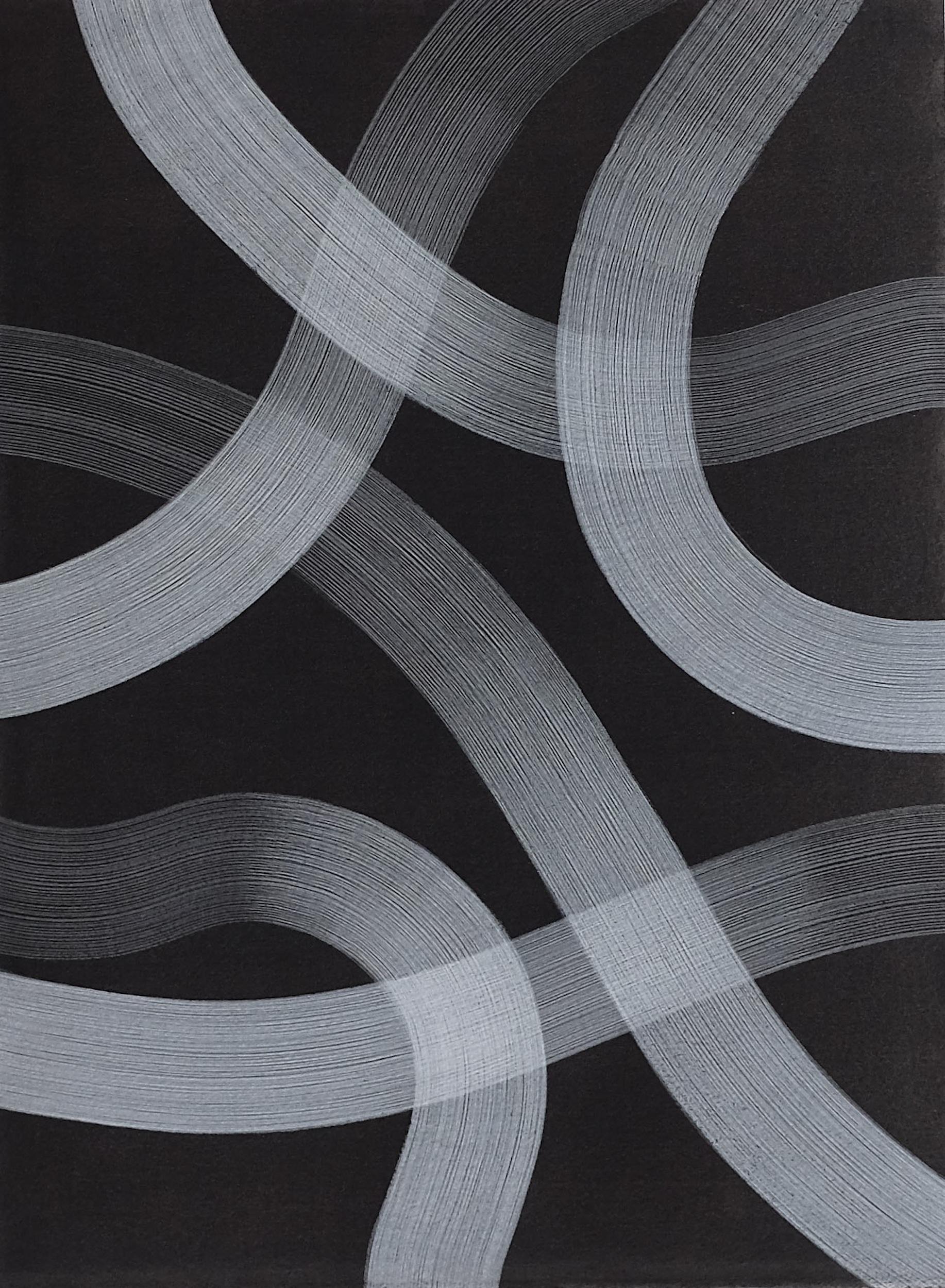 Untitled (2016)  Casein Paint on Paper  38 x 28 cm