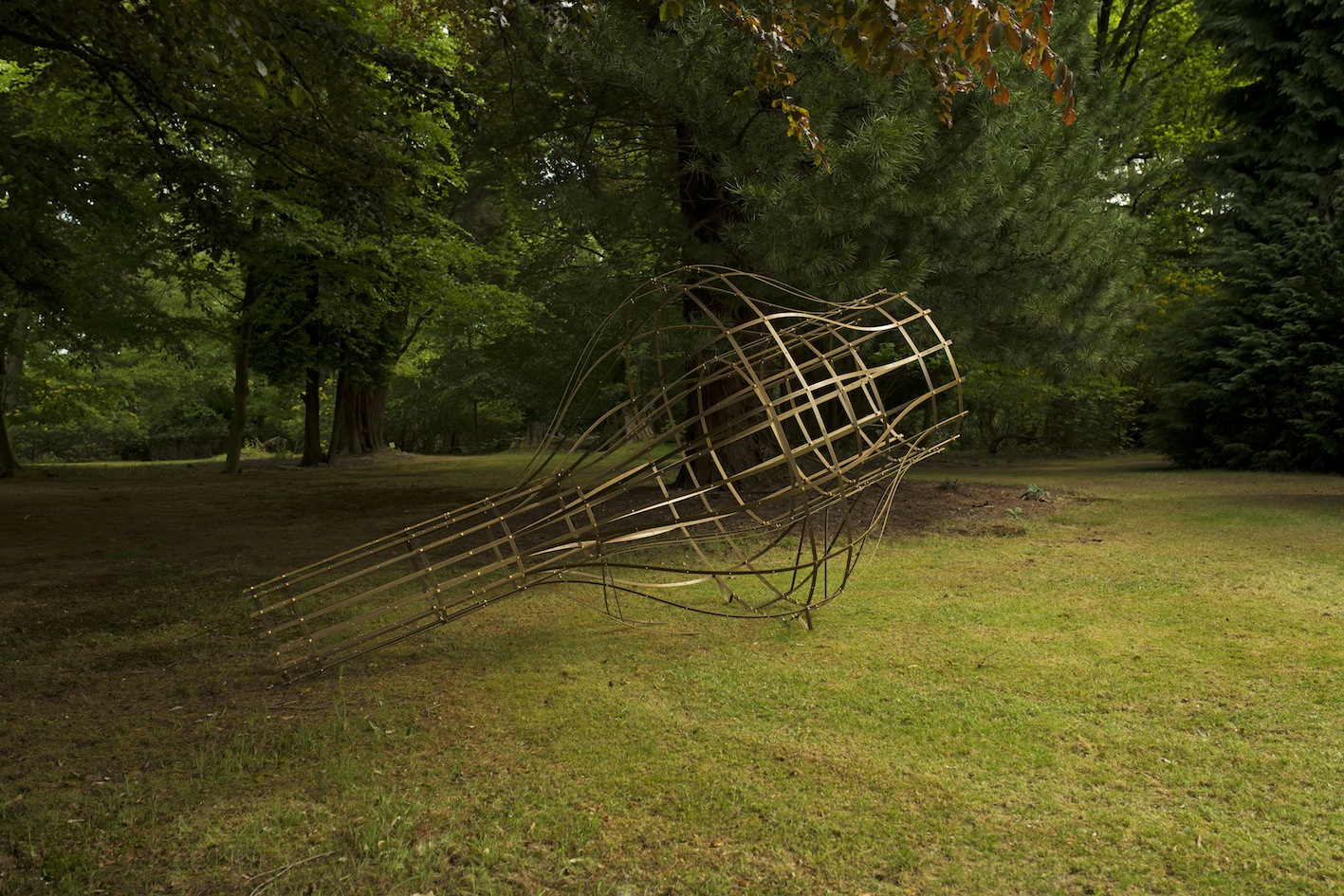 They are the mysteries and these are the traps of the mysteries   Solid Brass  335 x 180 x 180 cm