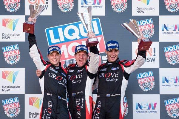 Grove Racing were victorious in the 2016 Bathurst 12 Hr Class B event