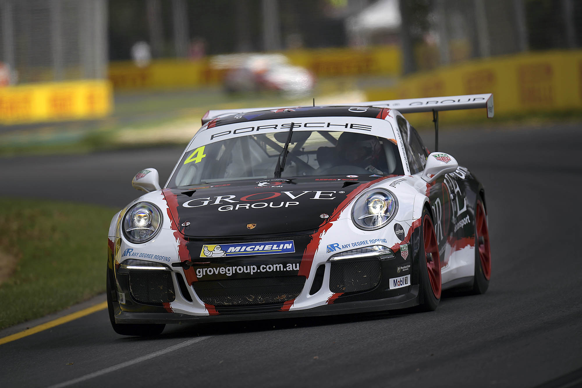 Porsche racer Stephen Grove is set to race at Spa