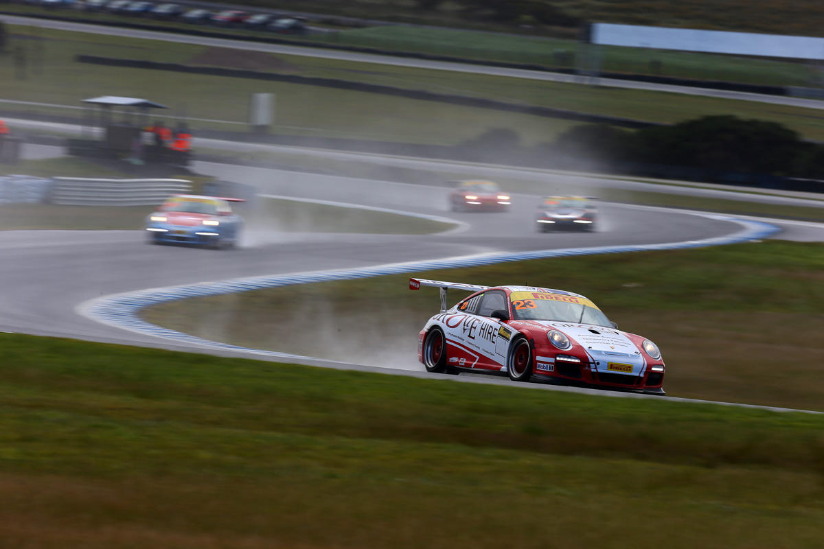 Brenton Grove in GT3 Cup Challenge last weekend at Phillip Island