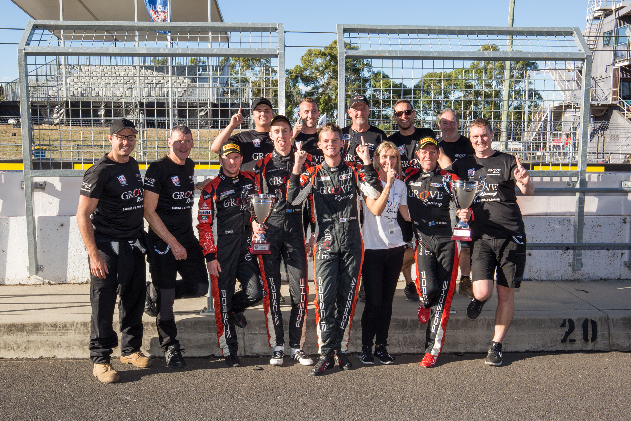 Grove Racing won their third Liqui-Moly Bathurst 12 Hour in class during the month of February.
