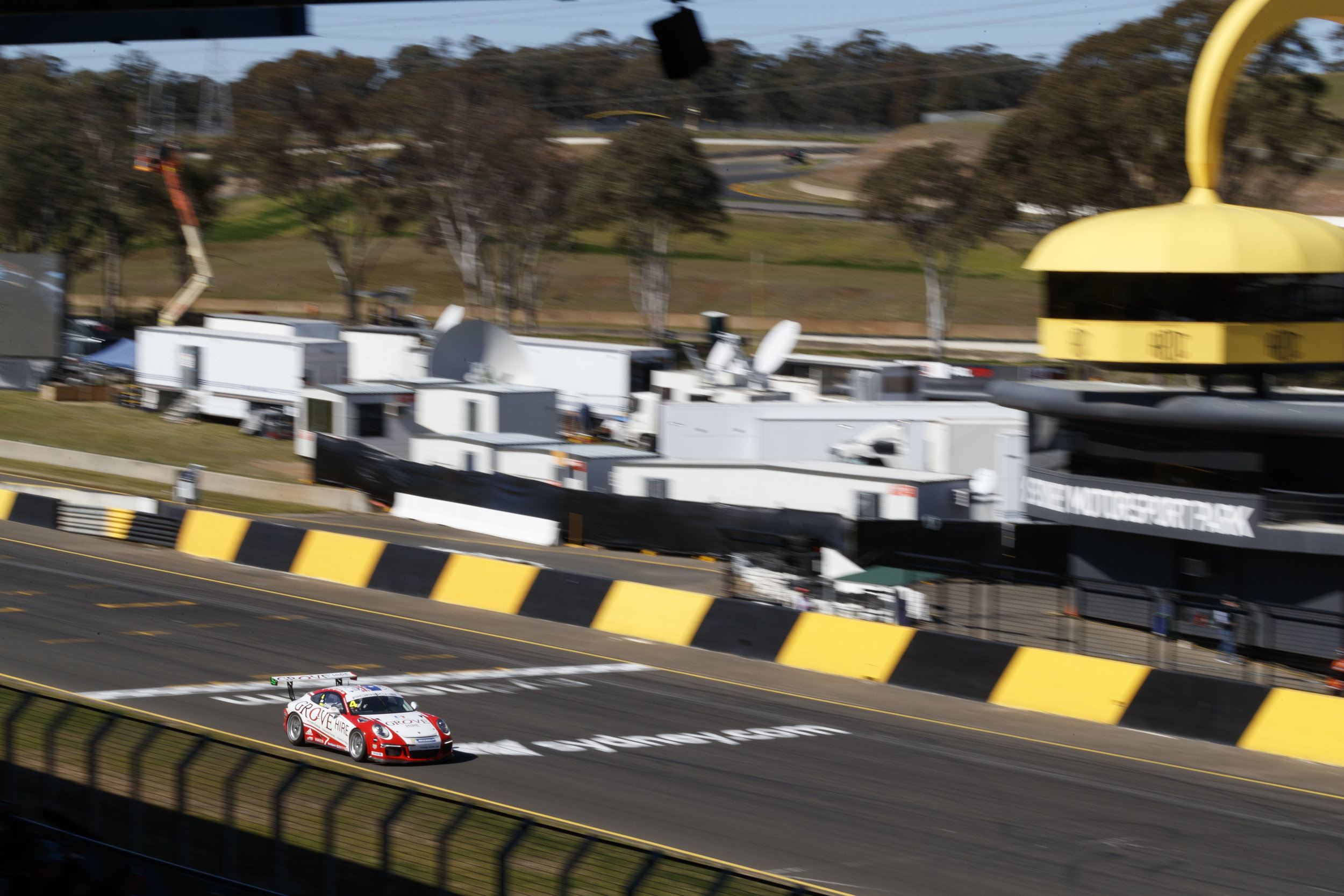 Stephen Grove won the Carrera Cup Australia vs Asia Pro-Am joint race at Sydney Motorsport Park in 2016.
