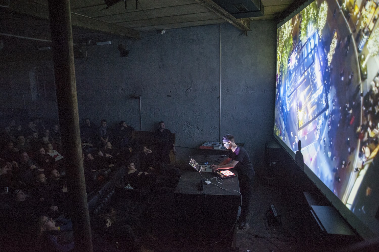 A/V Performance by J.G. Biberkopf