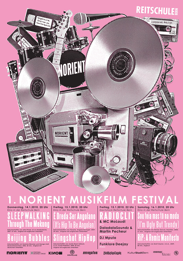 Festival Poster 2010 ARt Design: Panti-Christ (Switzerland)