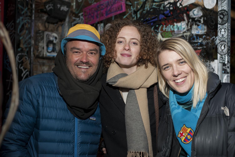 Bryan Little, Brittany Nugent, Olivia Kastebring