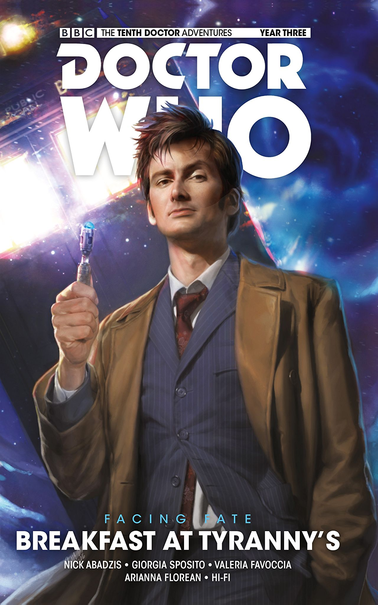 Doctor Who Year 3 Vol. 1 -  Breakfast at Tyranny's