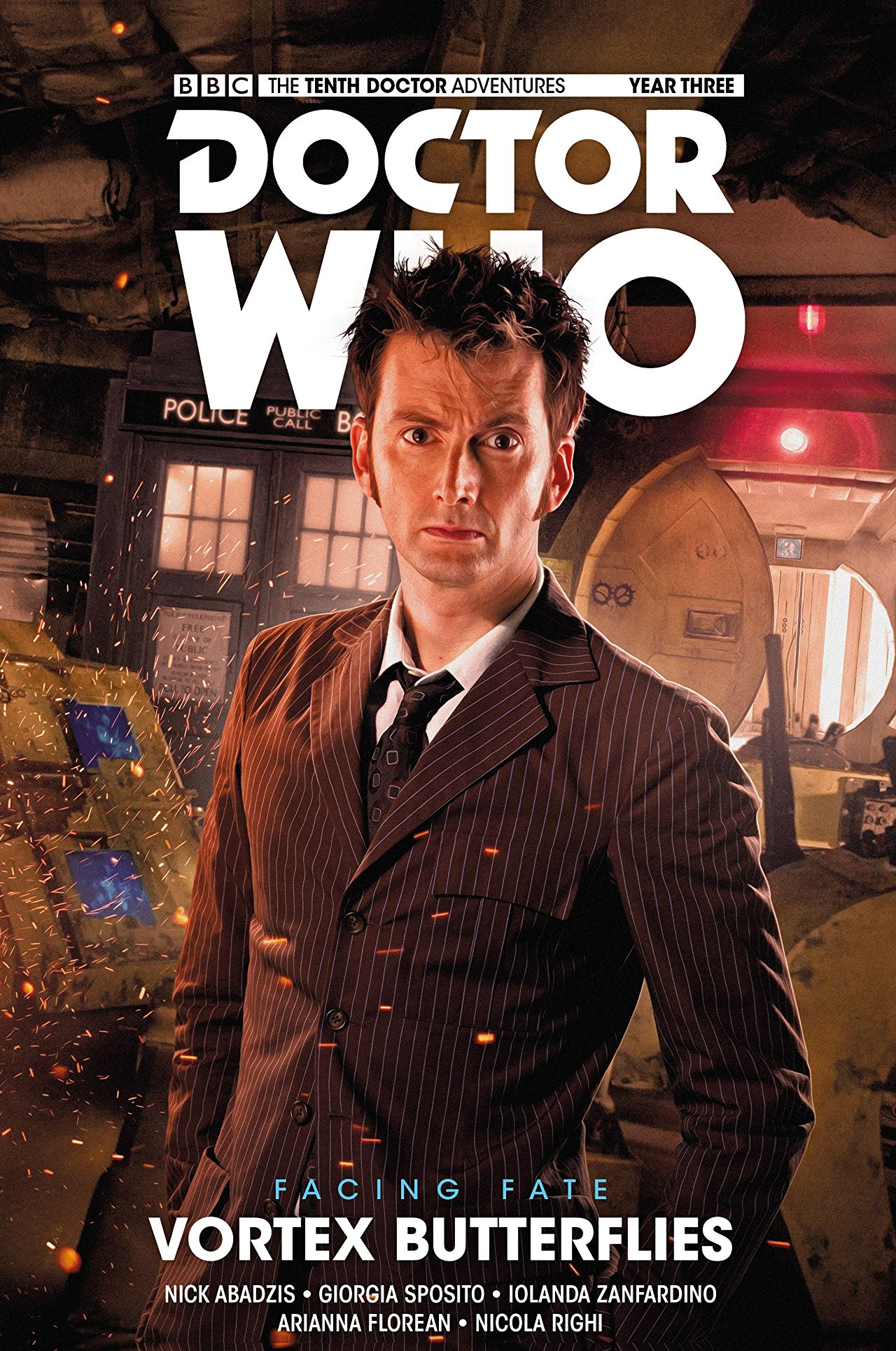 Doctor Who Year 3 Vol 2 -  Vortex Butterflies