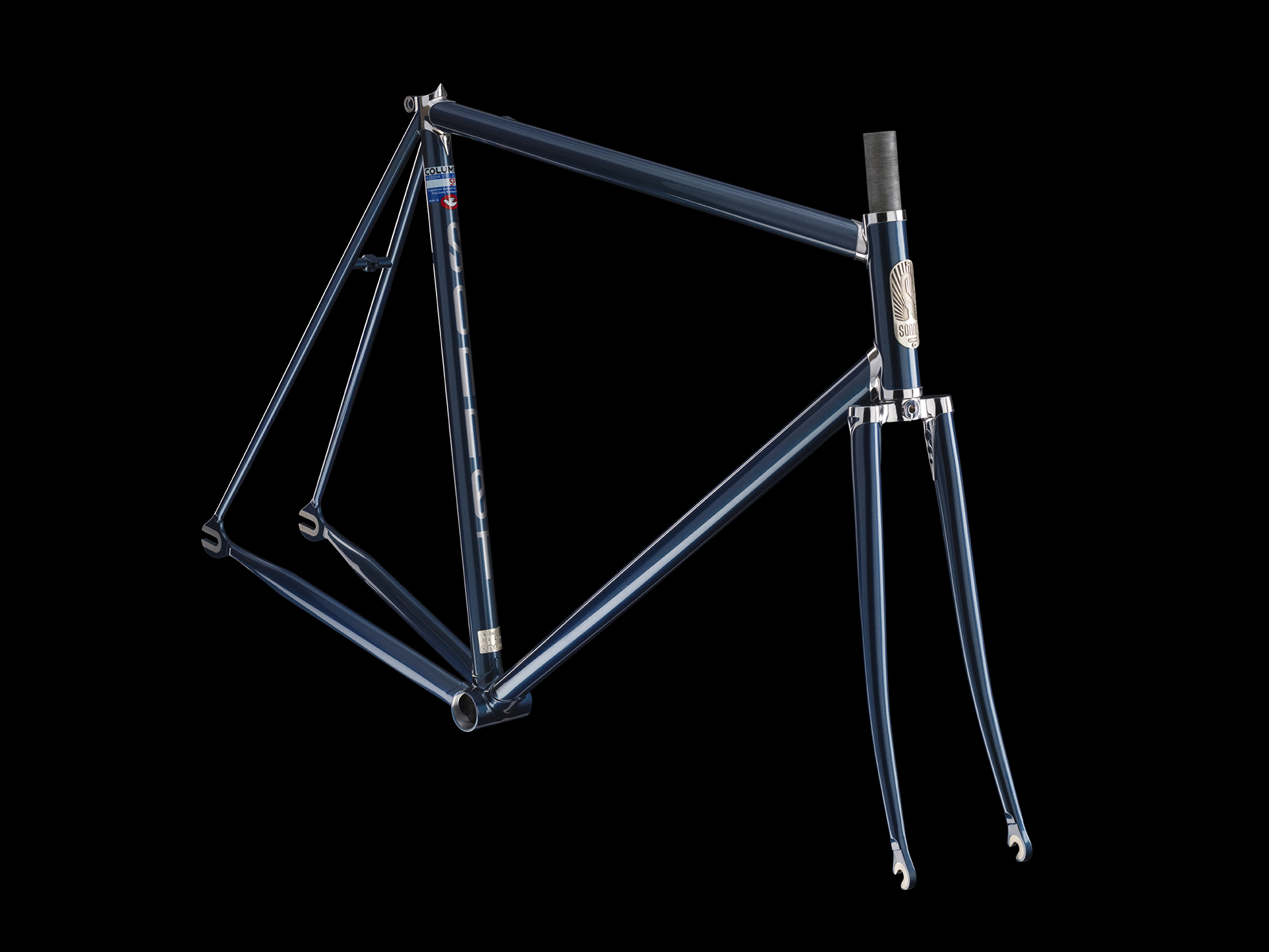Sonnet artisan classic lugged steel track fixed gear bicycle frame