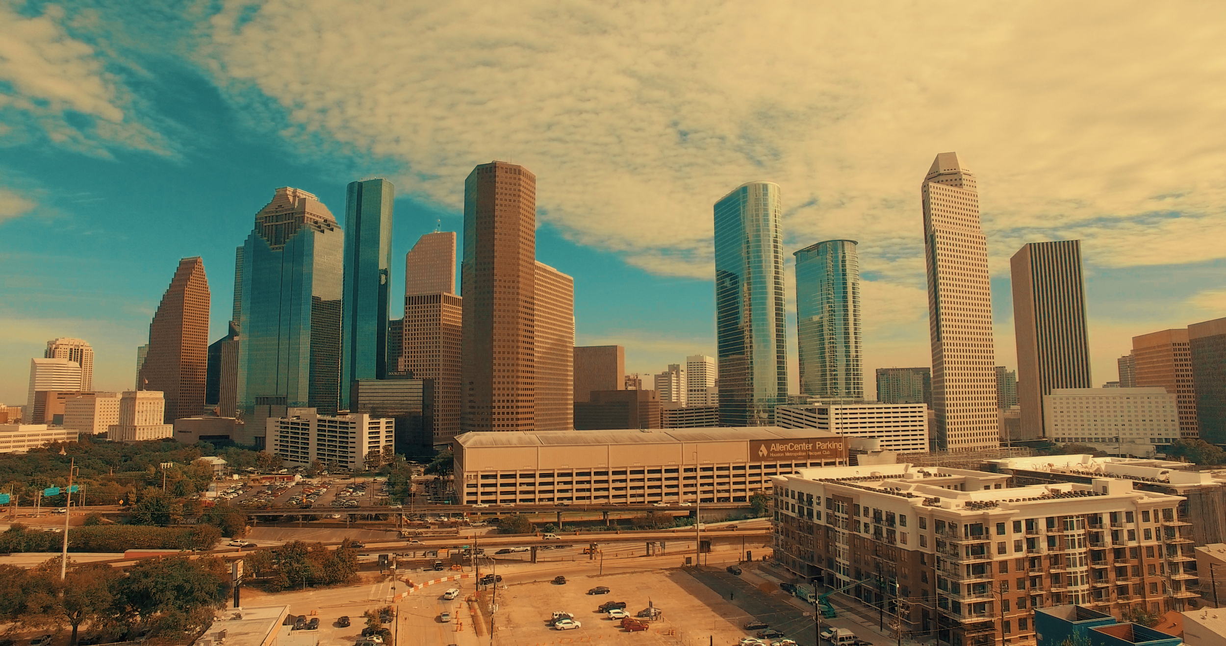 Downtown H-Town.