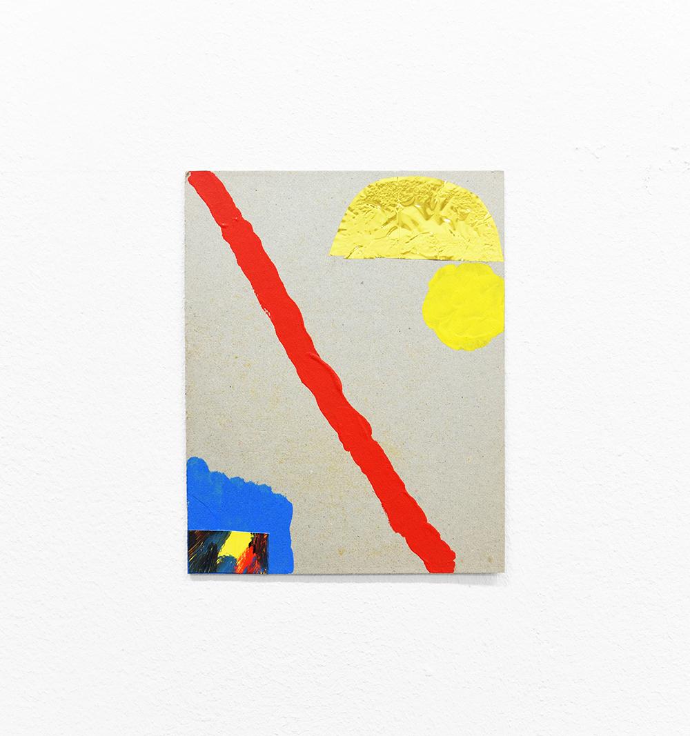The Road VII. Acrilic on cardboard. 14x21cm