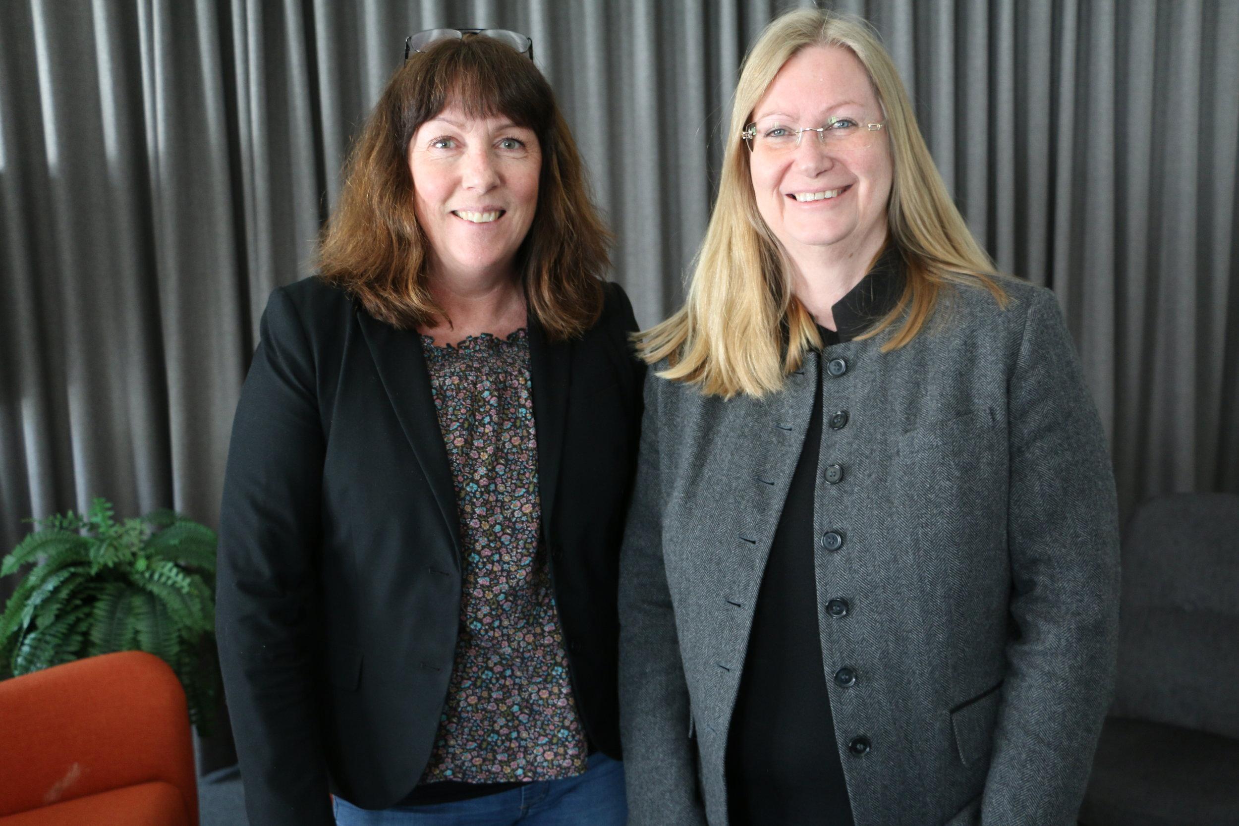 Sarah Gotthold & Kristina Öhman, ABI. Foto: Lennart Håkansson