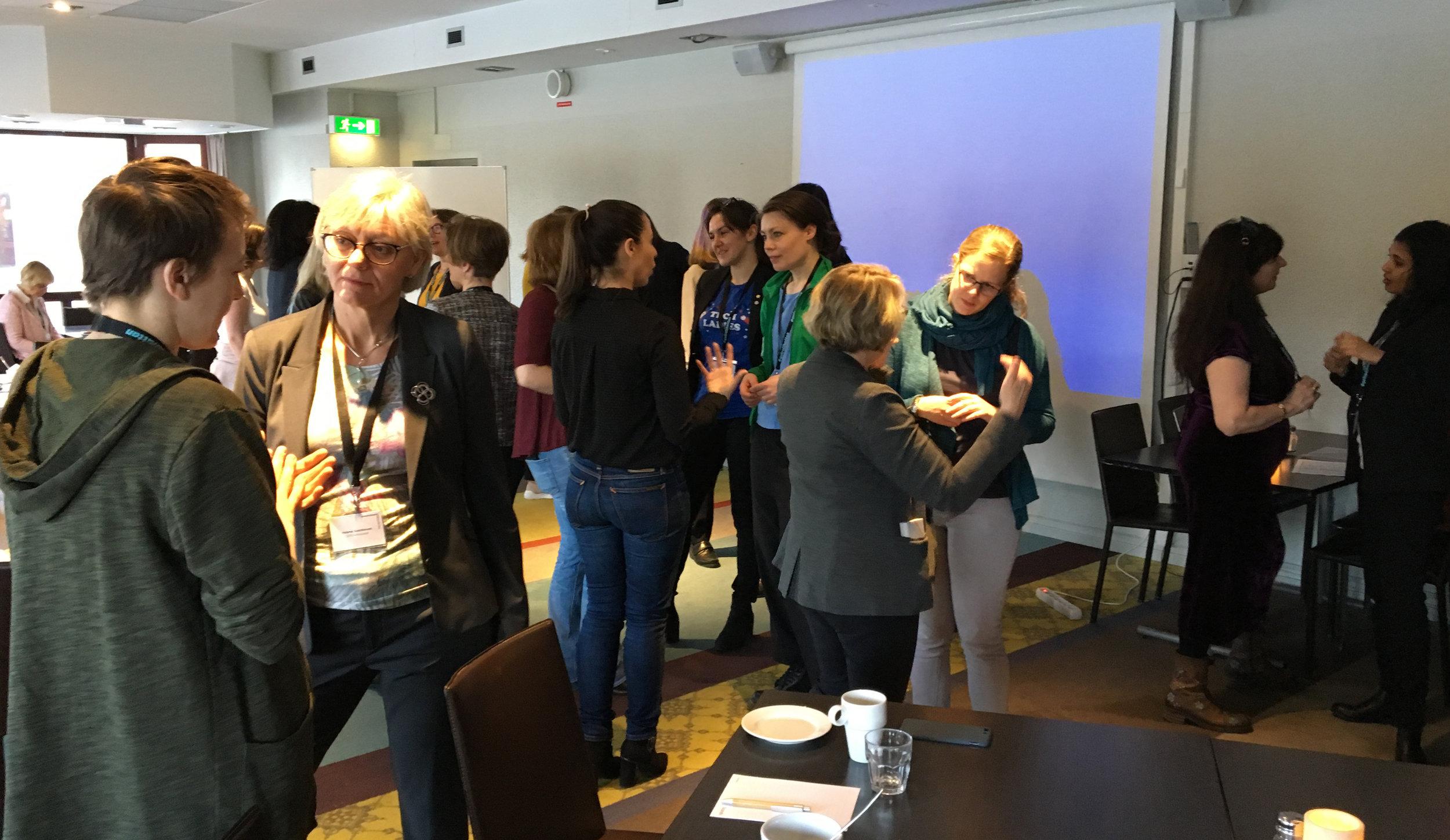 Women in Space nätverksträff - Rymdforum