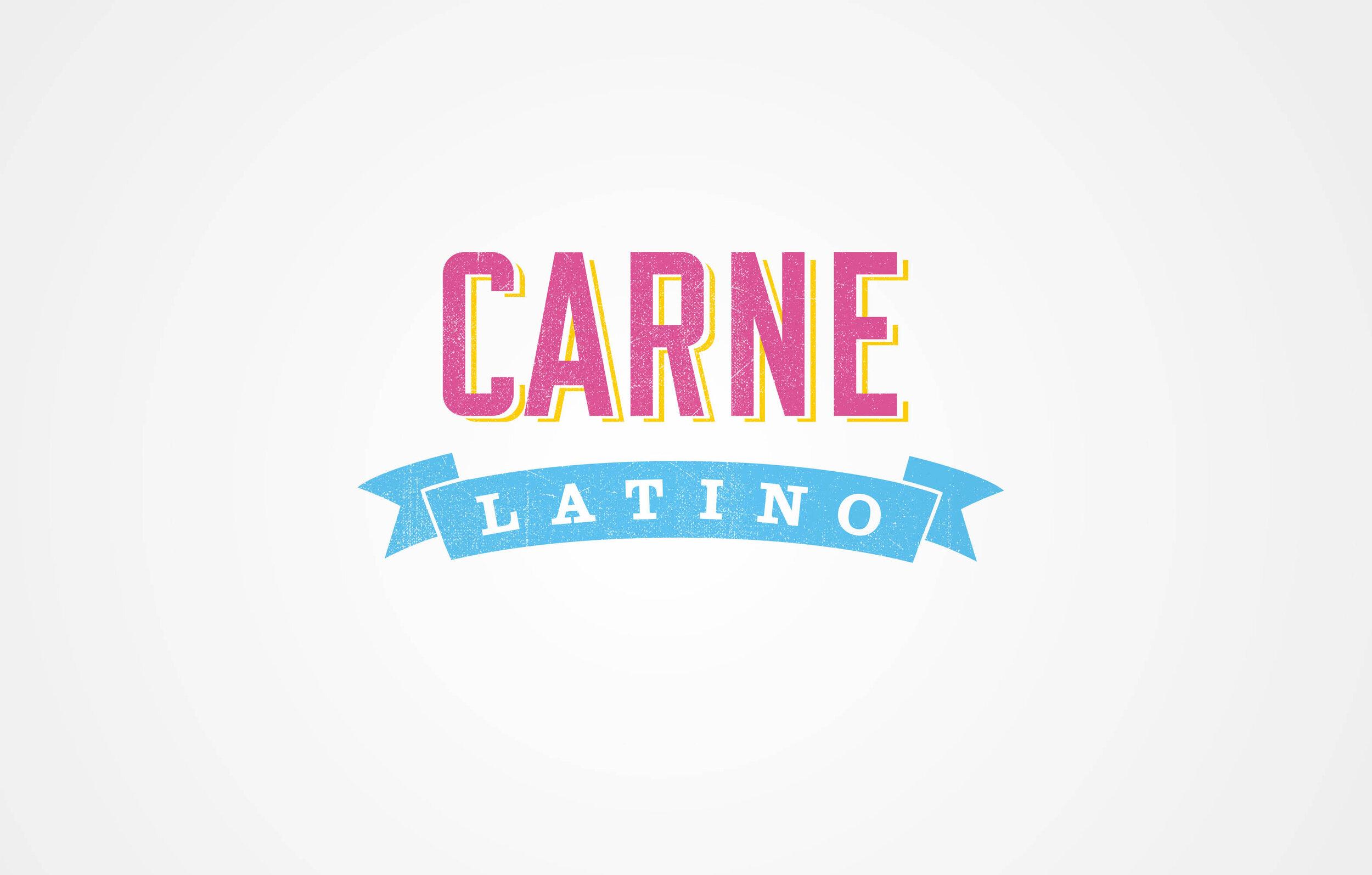 Carne Latino - brand identity.
