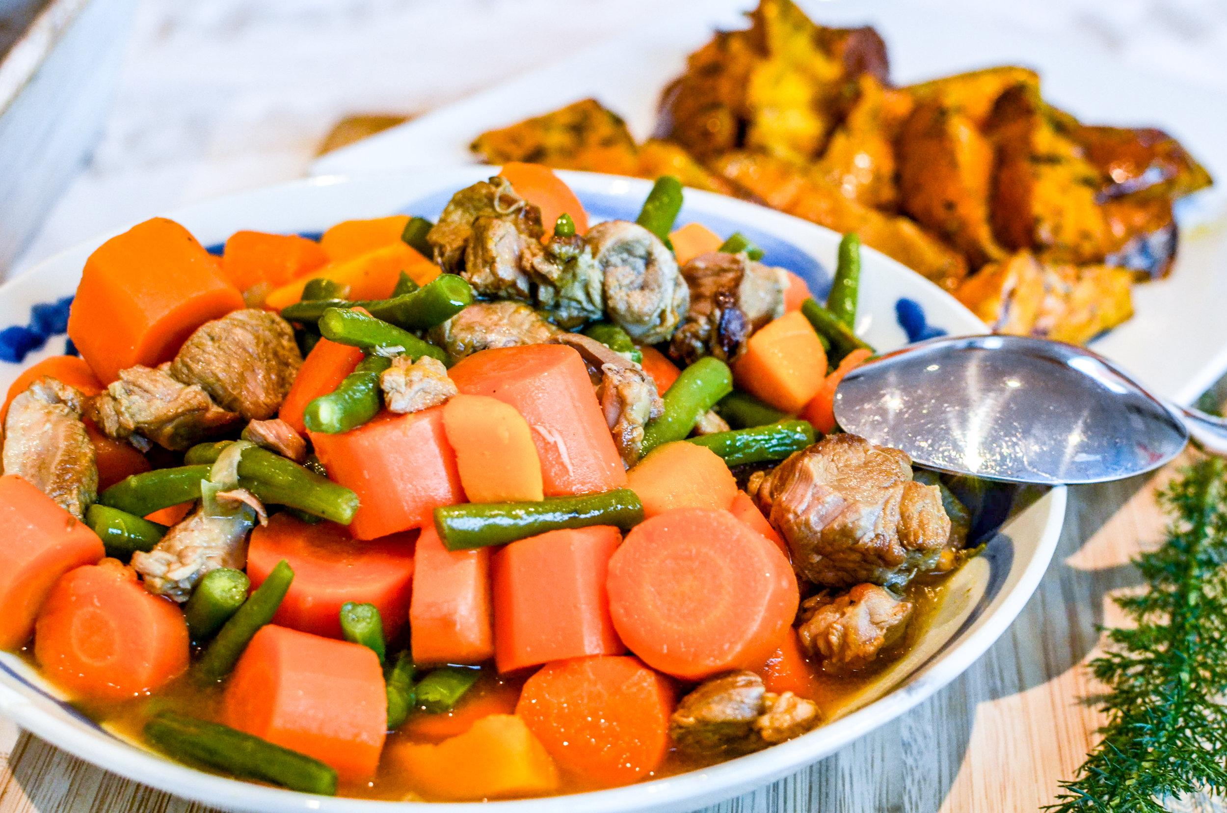 """Meal 1 by Chef Simon:Mijoté d'agneau  (                    Normal   0       21       false   false   false     EN-GB   JA   X-NONE                                                                                                                                                                                                                                                                                                                                                                              /* Style Definitions */ table.MsoNormalTable {mso-style-name:""""Tableau Normal""""; mso-tstyle-rowband-size:0; mso-tstyle-colband-size:0; mso-style-noshow:yes; mso-style-priority:99; mso-style-parent:""""""""; mso-padding-alt:0cm 5.4pt 0cm 5.4pt; mso-para-margin:0cm; mso-para-margin-bottom:.0001pt; mso-pagination:widow-orphan; font-size:12.0pt; font-family:Cambria; mso-ascii-font-family:Cambria; mso-ascii-theme-font:minor-latin; mso-hansi-font-family:Cambria; mso-hansi-theme-font:minor-latin; mso-ansi-language:EN-GB;}     Agneau, Carottes, Haricots Verts, Potimarron,                    Normal   0       21       false   false   false     EN-GB   JA   X-NONE                                                                                                                                                                                                                                                                                                                                                                              /* Style Definitions */ table.MsoNormalTable {mso-style-name:""""Tableau Normal""""; mso-tstyle-rowband-size:0; mso-tstyle-colband-size:0; mso-style-noshow:yes; mso-style-priority:99; mso-style-parent:""""""""; mso-padding-alt:0cm 5.4pt 0cm 5.4pt; mso-para-margin:0cm; mso-para-margin-bottom:.0001pt; mso-pagination:widow-orphan; font-size:12.0pt; font-family:Cambria; mso-ascii-font-family:Cambria; mso-ascii-theme-font:minor-latin; mso-hansi-font-family:Cambria; mso-hansi-theme-font:minor-latin"""