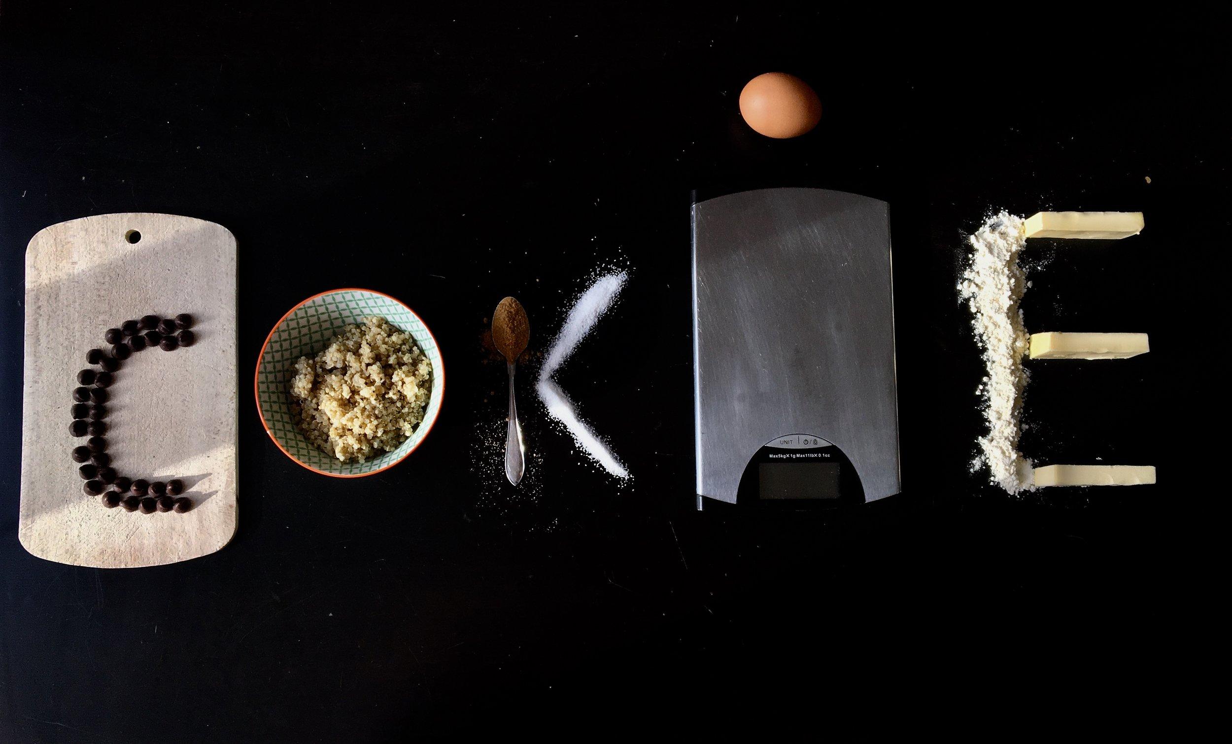 Ingrédients pour 18 Qookies