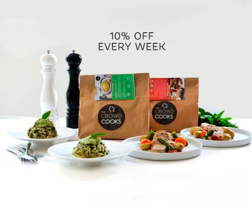 Receive your Crowd Cooks Box every Week! - Get 10% DISCOUNT every week compared to our non-subscription offer ! You can pause or cancel at anytime.