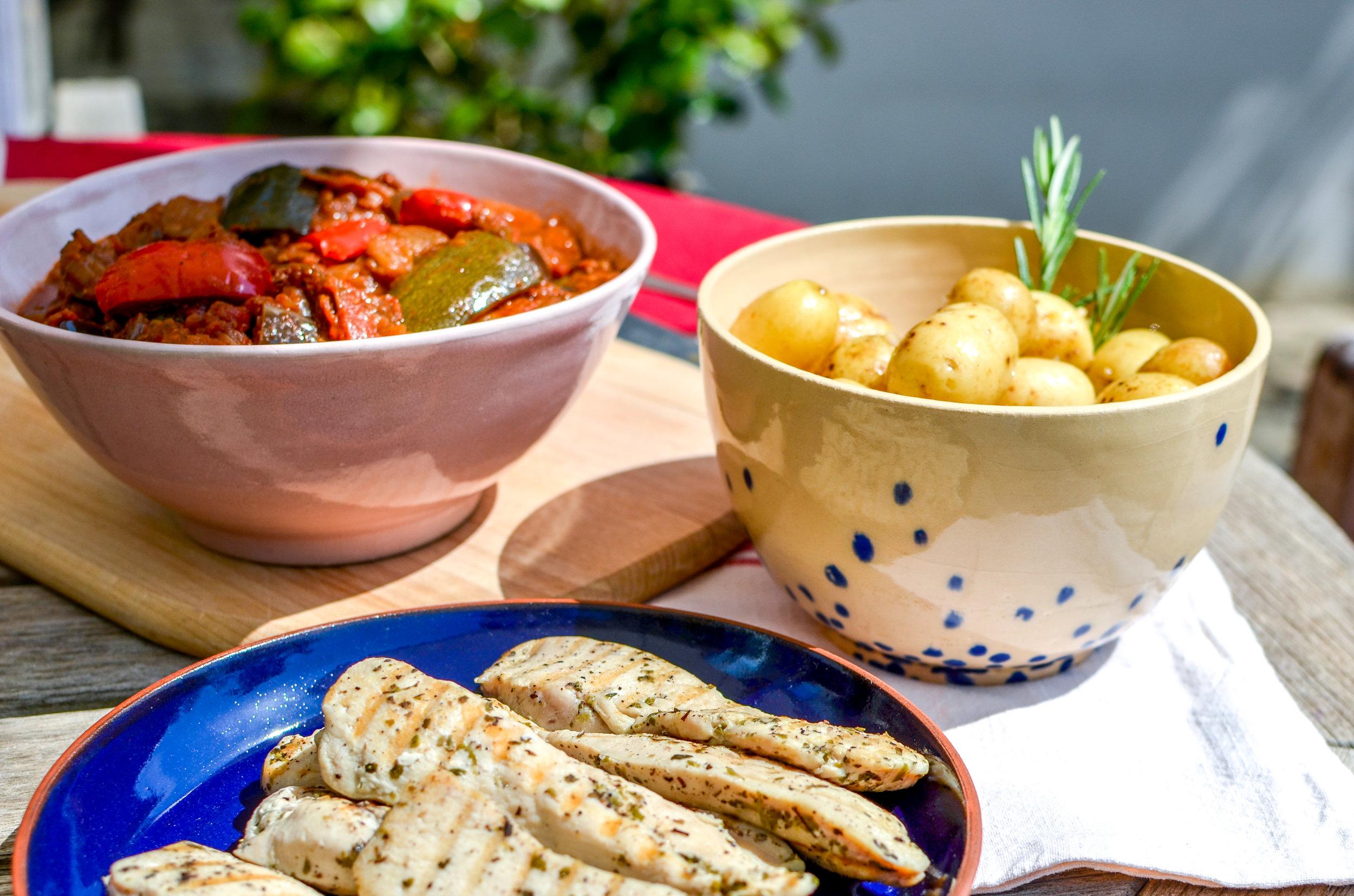 La cuisine Crowd Cooks -