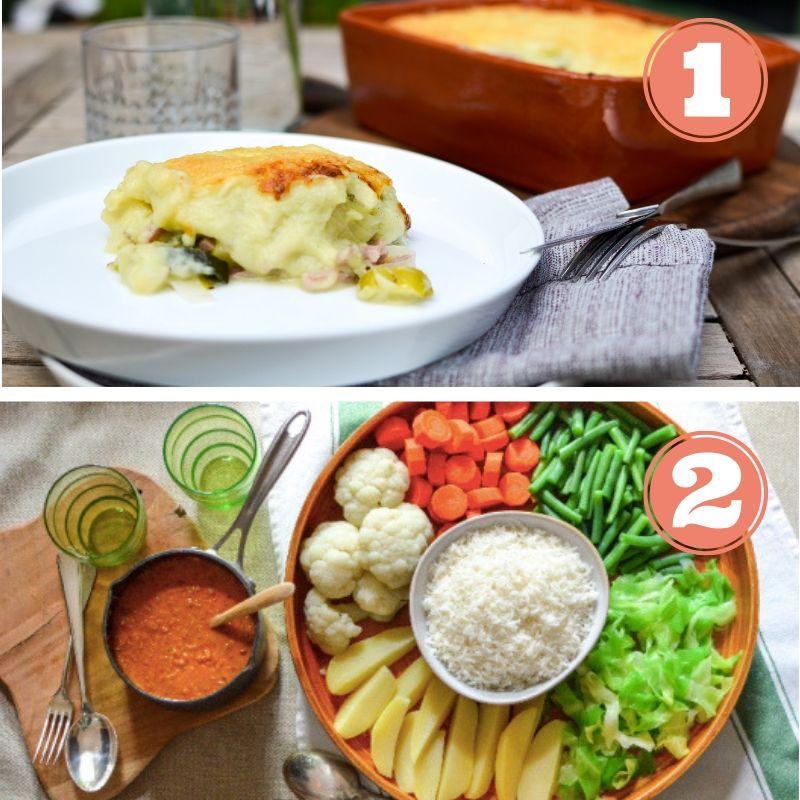 - Deux repas déjà cuisinésPeut se conserver 5 jours au frigoA réchauffer facilement (sous vide)Ingrédients frais et de saisonLivraison dimanche ou lundià Bruxelles et en BrabantsA partir de 8€ par portionRepas 1 : Boulettes sauce champignonsRepas 2 : Curry de lentilles rouges