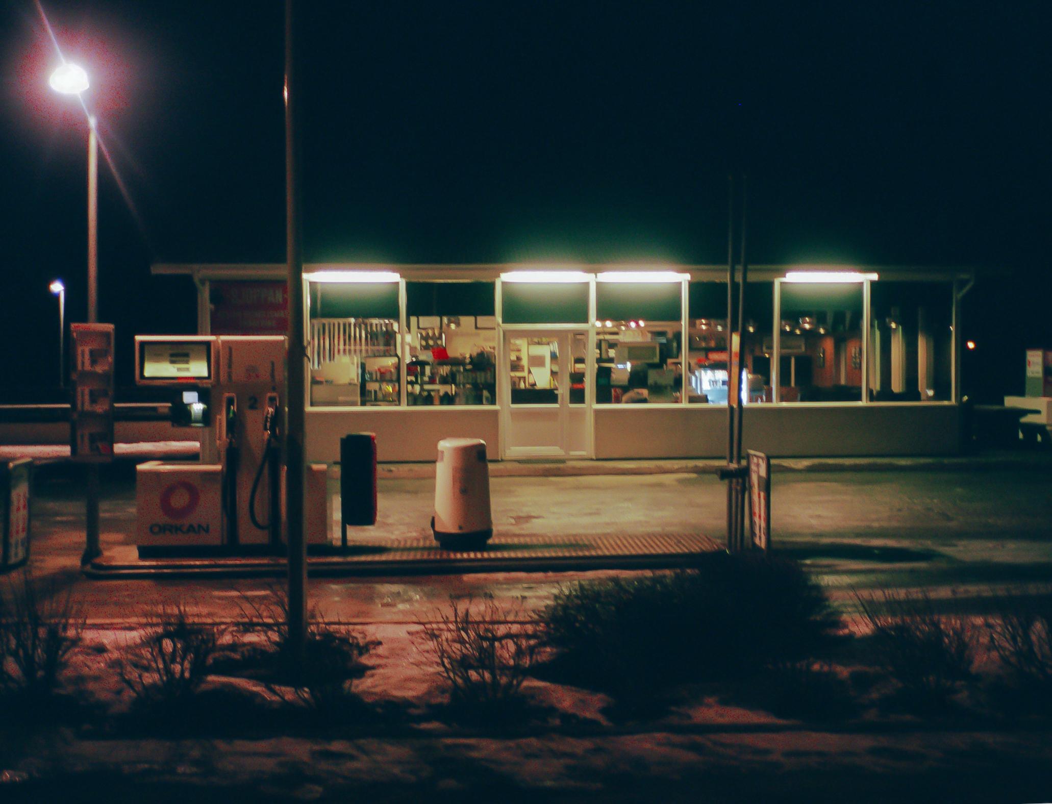 gas station - iceland