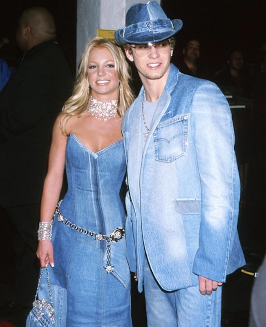 America's greatest national treasure:         Britney Spears & JT, circa 2001.