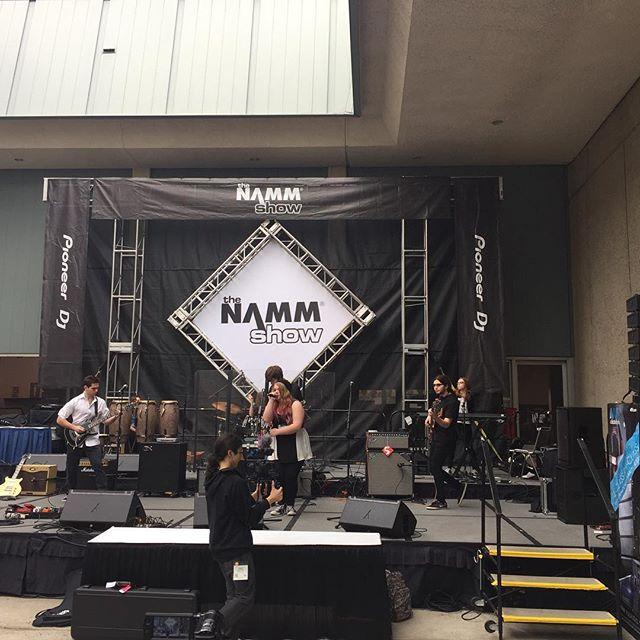 Musicology All-Stars killing it an #namm