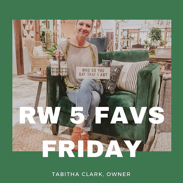 Make sure you keep up with our Stories today to see @tabithaclark_ walk you through our store and show you her 5 favorite products of the week! Come back and comment what your fav was! . . . . . #reclaimedwarehouse #shoplocal #shopsmall #moore #discoverok #tgif #productoftheweek #magnoliahome #diypaint
