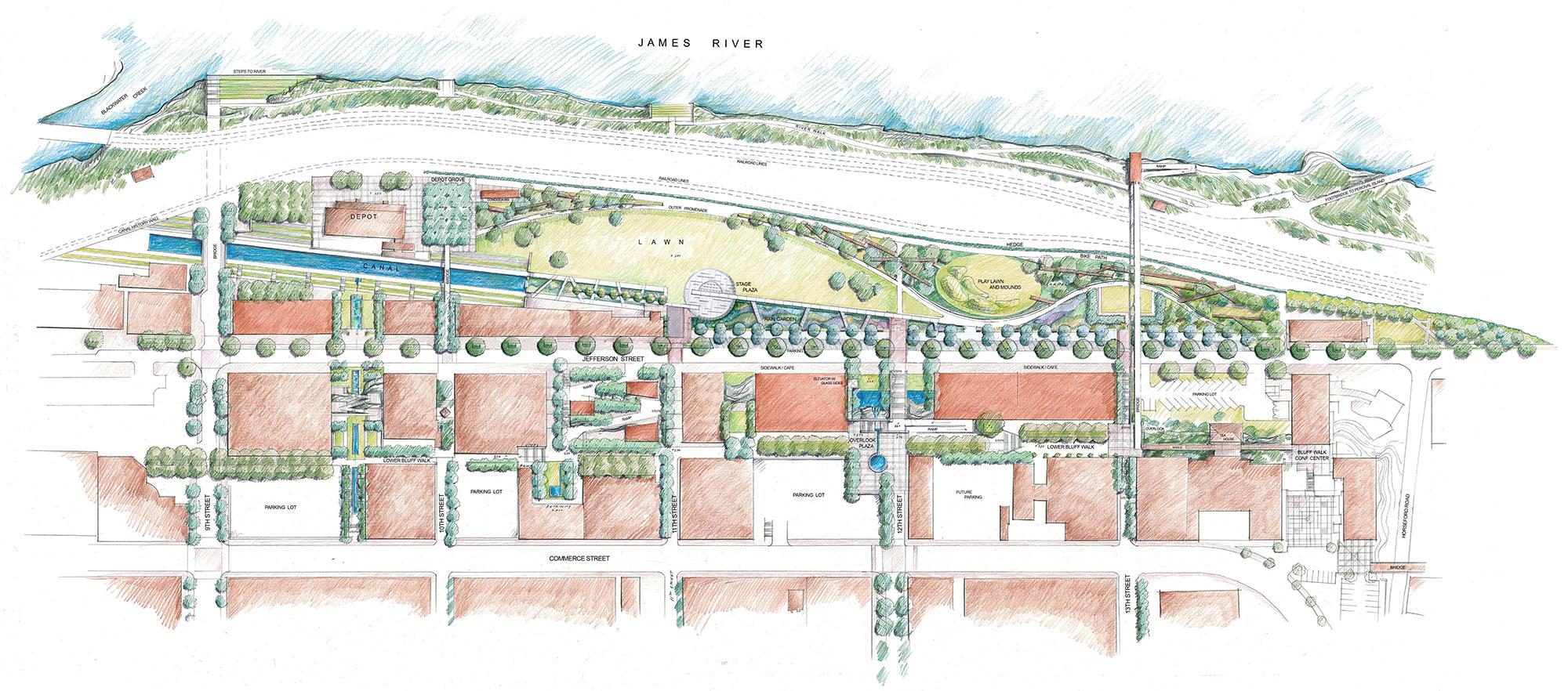 Lynchburg Riverfront Master Plan