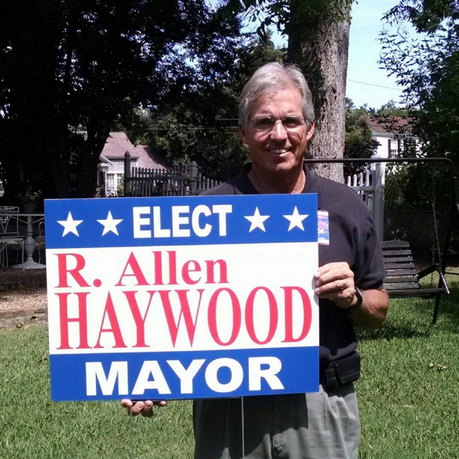 R. Allen Haywood, Sparta, Georgia's new mayor [via]