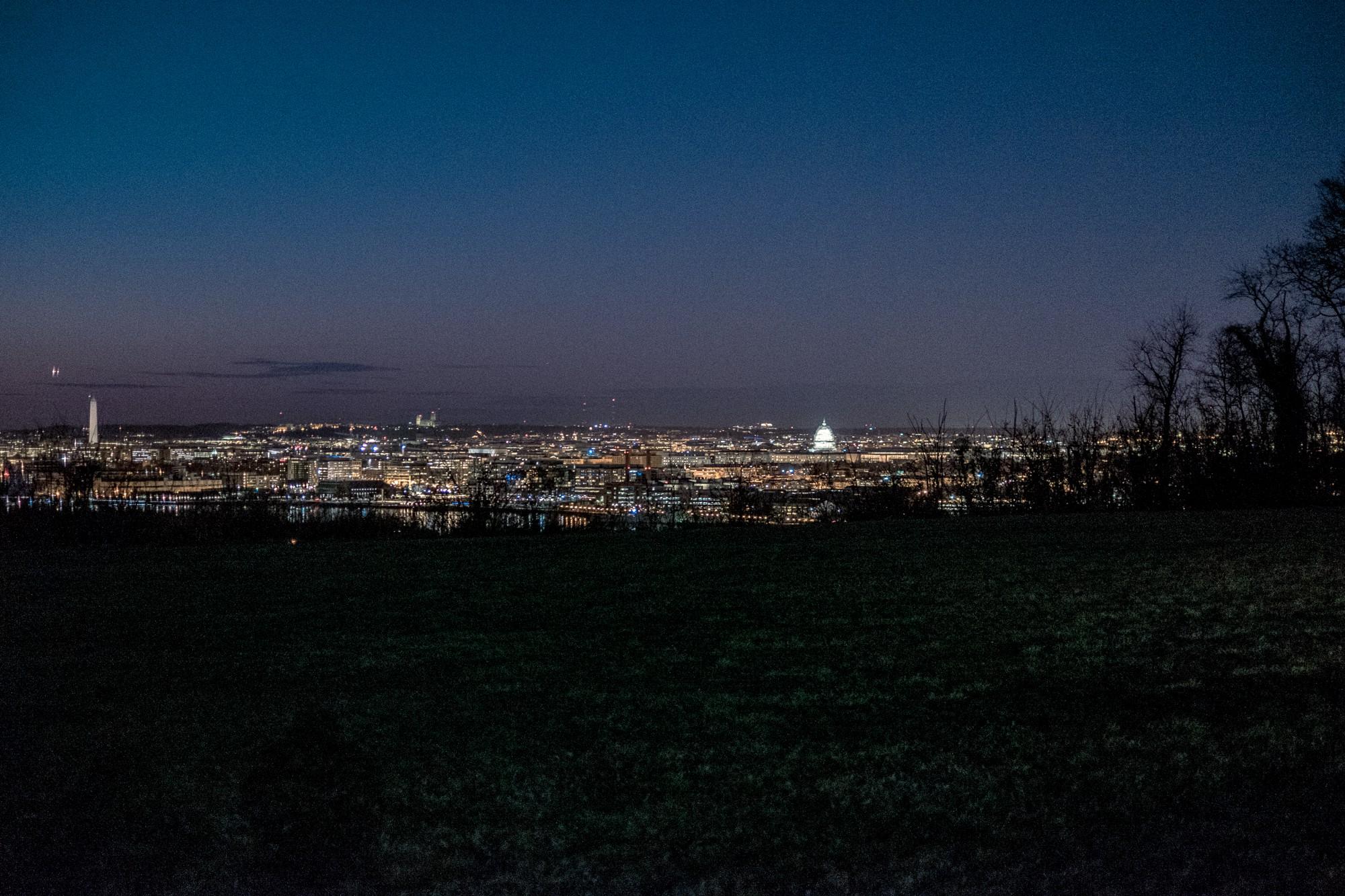 The Washington, D.C. skyline (Image captured by John Fisher)