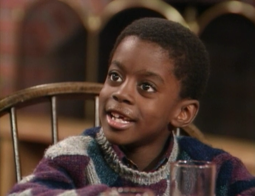 A young Deon Richmond on 'The Cosby Show'
